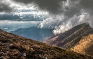 Beautiful mountain valley