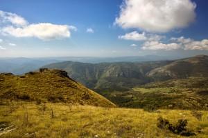 Fertile mountain side
