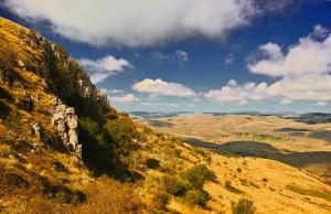Breathtaking mountain range